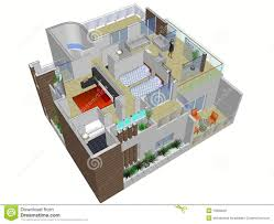 plan for house architectural plan of house stock illustration illustration of