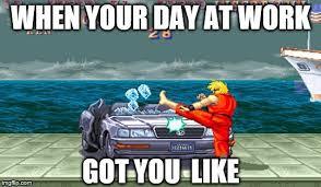 Street Fighter Meme - street fighter car smash imgflip