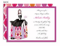 women u0027s birthday party invitations girls u0027 party invites
