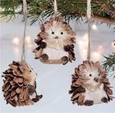 pine cone ornaments 55 awesome outdoor and indoor pinecone