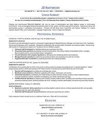 Resume Template Executive Assistant Examples Of Resume Summary Summary Resume Examples Executive