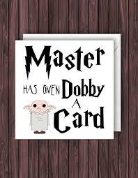 harry potter birthday card harry potter inspired birthday card