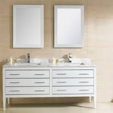 Modern White Bathroom Vanity Bathroom Fairmont Vanities For Your Bathroom Design
