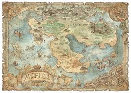 Fantasy Map Artstation Angelou Fantasy Map Francesca Baerald