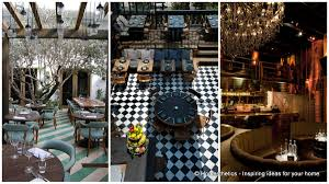 18 interestingly stylish restaurant ideas you can steal create