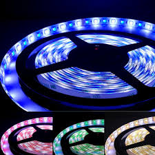 16 4ft 5050 rgb white led strip lights waterproof ip65 torchstar