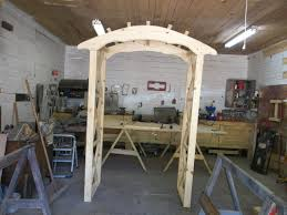 how to build an arbor trellis ana white rustic x wedding arch diy projects