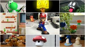 Super Mario Home Decor by 3d Printed Accessories All3dp