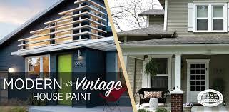 modern vs vintage house paint colors