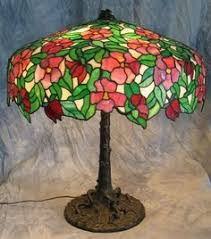Louis Comfort Tiffany Lamp Laburnum Lamp Photo Colin Cooke The Lamps Of Louis Comfort
