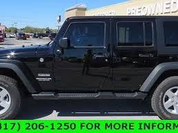 jeep sport black 2017 jeep wrangler unlimited sport for sale joplin mo 3 6l v6