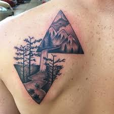 best 25 triangle tattoos ideas on pinterest triangle tattoo
