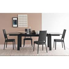 extending table maestro cb 4086 glass u0026 wood extending table by connubia