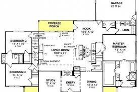 split floor house plans 655904 3 bedroom 25 bath country farmhouse with split floor plan and