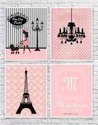 Eiffel Tower Accessories For Bedroom Girls Paris Bedroom Art French Wall Art Paris Nursery Art