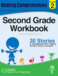 this second grade reading comprehension workbook includes 30 high