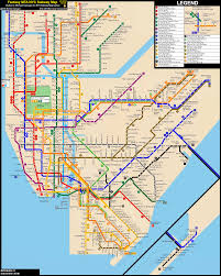 Myc Subway Map by Nyc Subway Fantasy Map Revision 21 Late Nights By Ecinc2xxx On