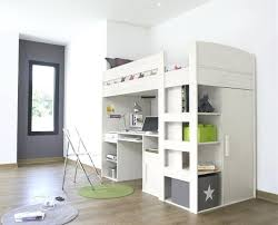 bureau sous mezzanine lit mezzanine armoire lit mezzanine avec bureau armoire pas cher