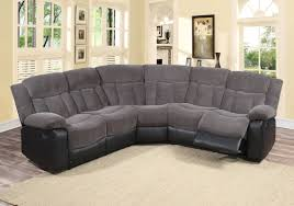 living in style reclining sectional u0026 reviews wayfair