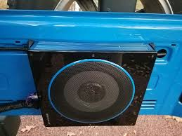 randomly learned inexpensive compact subwoofer and amp for 2 door