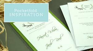 Pocketfold Invitations Diy Invitations Pocketfolds From Paperbliss Uk