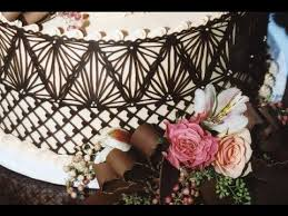 new video by julia m usher how to make chocolate lace cake wraps