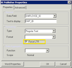 oracle bi publisher how to format numbers as text so that
