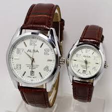 Jam Tangan Alba Jogja jual jam tangan jogja jam tangan alba 8347 cokelat