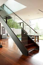 Glass Banister Staircase Can You Give An Estimate On How Much The Glass Railing Cost