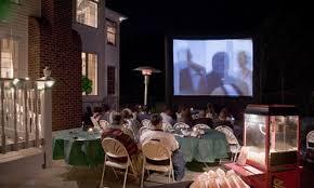 outdoor party rentals half outdoor party rental funflicks outdoor