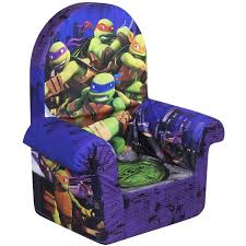 High Back Chairs by Marshmallow High Back Chair Teenage Mutant Ninja Turtles