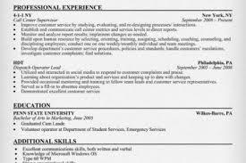 Call Center Resume Examples by Supervisor Resume Sample Facility Pressman Supervisor Resume