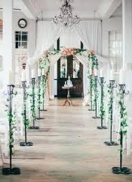 Wedding Arch Nyc Metropolitan Building Long Island City Wedding Shira Weinberger