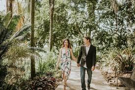leu gardens engagement session taylor u0026 dusten orlando wedding