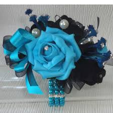 Turquoise Corsage Prom And Wedding Wrist Corsage