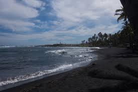 elevation of punalu u0027u beach punalu u0027u beach hawaii usa maplogs