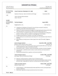 sample resume kitchen design