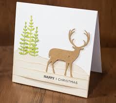 craft asylum the proud deer die card by paula pascual