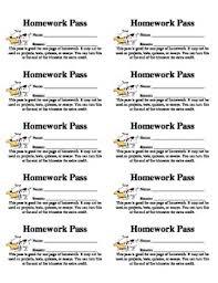 homework pass 10 per sheet homework pass homework and attendance