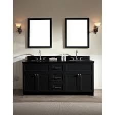 bathroom 36 inch white vanity with black top 48 black bathroom