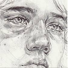 the 25 best realistic face drawing ideas on pinterest eye