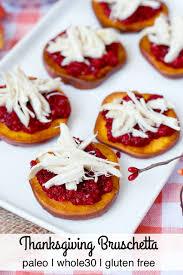 paleo thanksgiving bruschetta plaid paleo