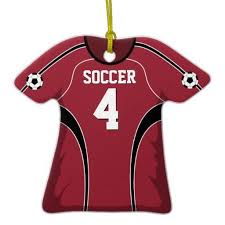 soccer ornaments to personalize 38 best shirt and jersey christmas ornaments images on