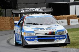 peugeot 405 t16 goodwood festival of speed 2014 picture gallery