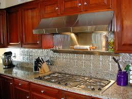 tin backsplash for kitchen kenangorgun com