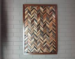 chevron wood wall chevron wood rustic décor chevron chevron arrow