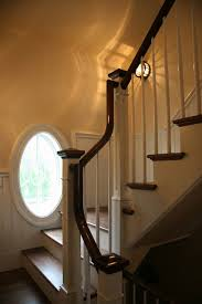 Curved Handrail Toby Leary Fine Woodworking Custom Built Millwork And Stairs For