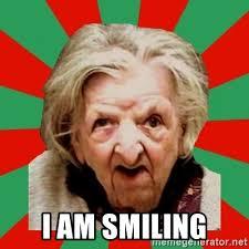Old Lady Wat Meme - wat ya say crazy old lady meme generator