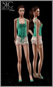 Liana Sims 2 Preview Women S Clothing Swimwear Liana Sims 2 Preview Women U0027s Clothing Casual Sims 2 Cas