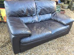 leather sofa free delivery 2 seater chunky leather sofa free delivery in brighton east
